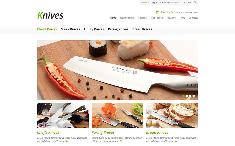 Szablon ZenCart #45675 na temat: sprzęt gospodarstwa domowego New Screenshots BIG