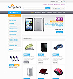 Computers ZenCart  Template 45680