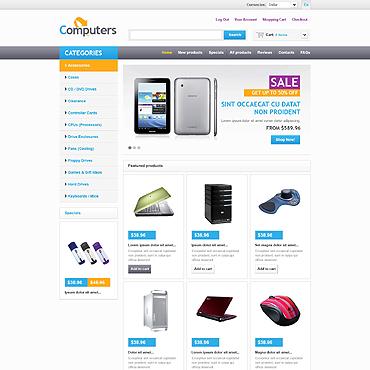 Купить  пофессиональные ZenCart шаблоны. Купить шаблон #45680 и создать сайт.