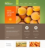 Agriculture Website  Template 45694