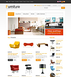 Furniture osCommerce  Template 45697