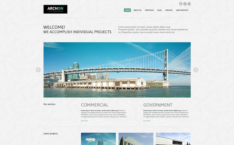 Archon Joomla Template
