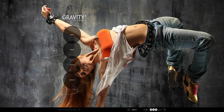 Dance Studio Flash CMS Template New Screenshots BIG