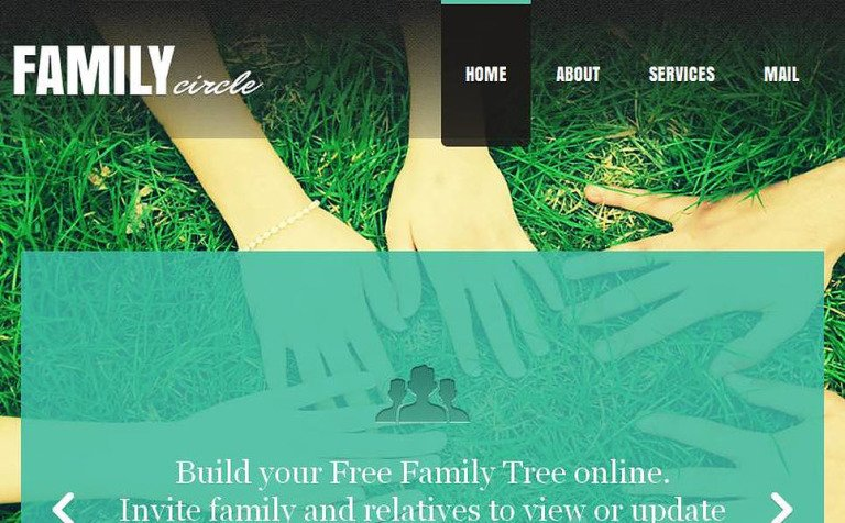 Html Family Tree Template Images Template Design Free Download