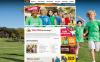 Modèle Moto CMS HTML  pour site de camp d'été New Screenshots BIG