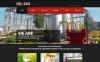 Modèle Web adaptatif  pour site de gaz et de pétrole New Screenshots BIG