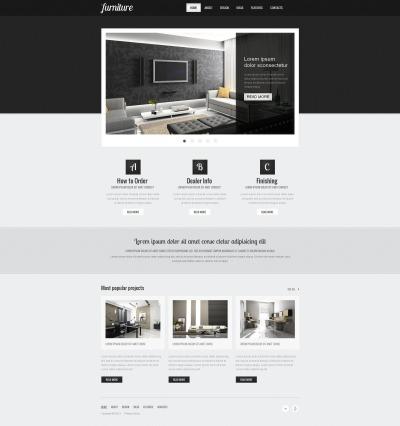 Furniture MotoCMS HTML шаблон