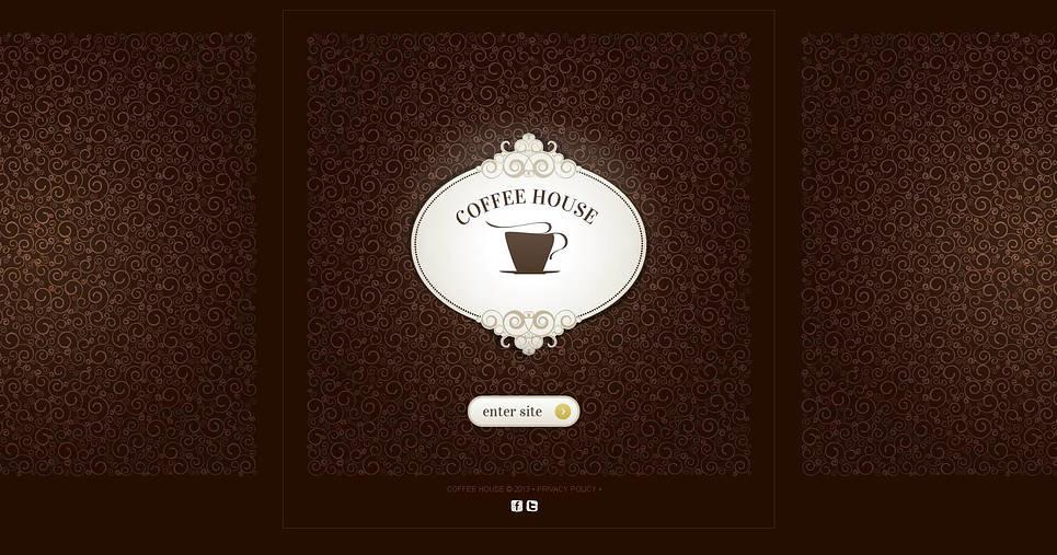 Plantilla Moto CMS HTML #45612 para Sitio de  para Tienda de café New Screenshots BIG