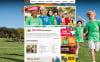 Szablon Moto CMS HTML #45608 na temat: obóz letni New Screenshots BIG