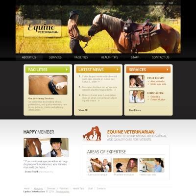 Horse Tema Moto CMS HTML