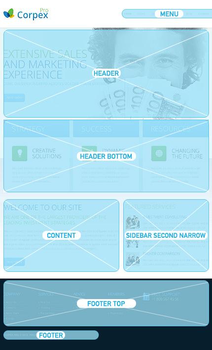 Drupal Template 45700 Main Page Screenshot