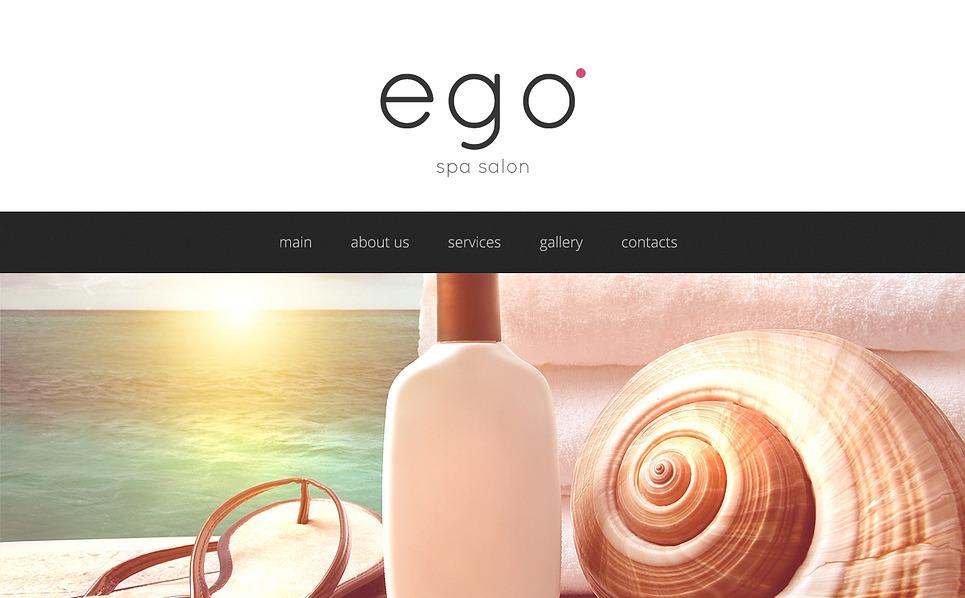 Reszponzív Szépségszalonok  Weboldal sablon New Screenshots BIG