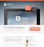 Software Website  Template 45728