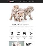 Animals & Pets Website  Template 45731