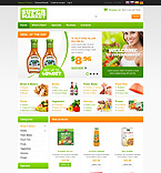 Food & Drink osCommerce  Template 45741