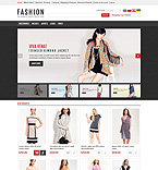 Fashion osCommerce  Template 45742