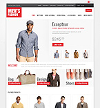 Fashion osCommerce  Template 45743