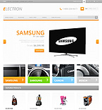 Electronics OpenCart  Template 45746