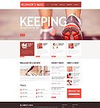 Sport Website  Template 45760
