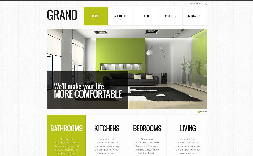 Template Drupal Flexível para Sites de Design Interior №45763 New Screenshots BIG