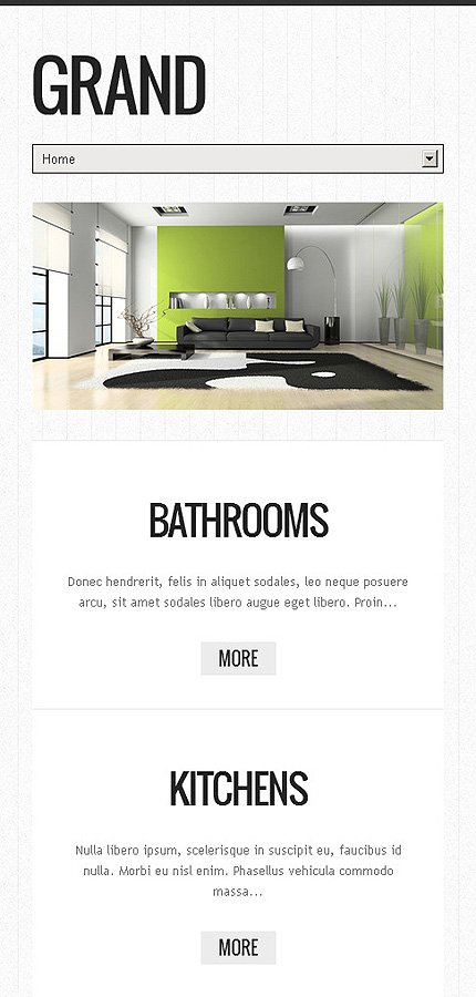 Drupal Template 45763 Main Page Screenshot