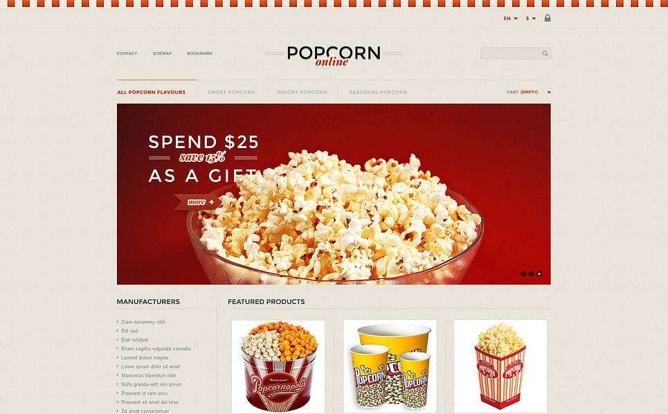 Tema PrestaShop  Flexível para Sites de Loja de comida №45765 New Screenshots BIG