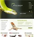 Animals & Pets Facebook HTML CMS  Template 45793