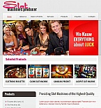 Casino Facebook HTML CMS  Template 45794