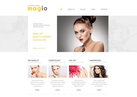 Beauty Salon Responsive