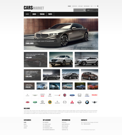 Cars and Parts PrestaShop Theme