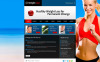 MotoCMS HTML шаблон №45779 на тему похудение New Screenshots BIG