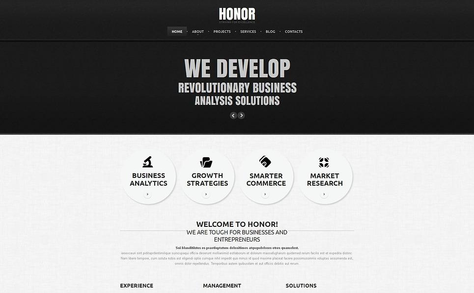 MotoCMS HTML шаблон №45792 на тему маркетинговое агентство New Screenshots BIG