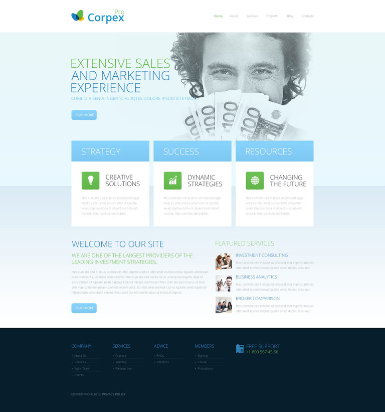 Optimistic Marketing Agency Drupal Template New Screenshots BIG