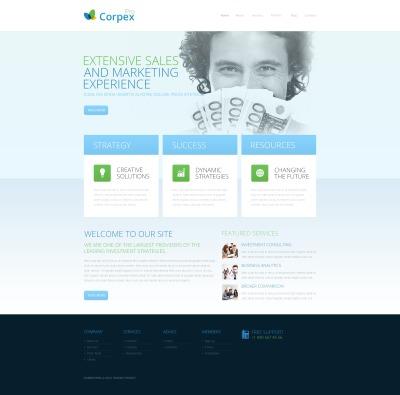 Thème Drupal  pour une agence de marketing