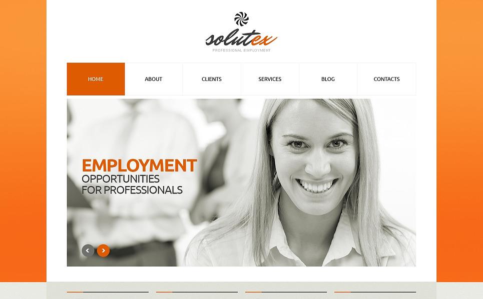 Plantilla Web Responsive para Sitio de Relaciones públicas New Screenshots BIG