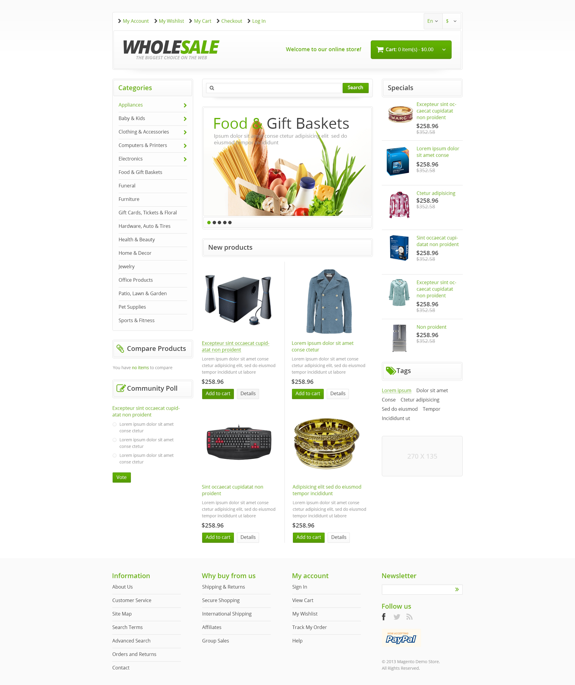 how to make a magento theme