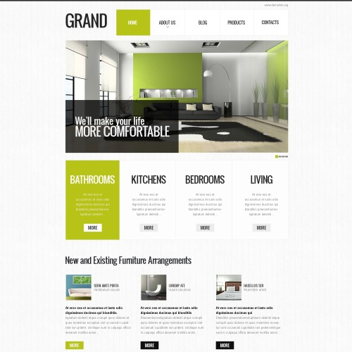 Grand - Interior Design Drupal Template