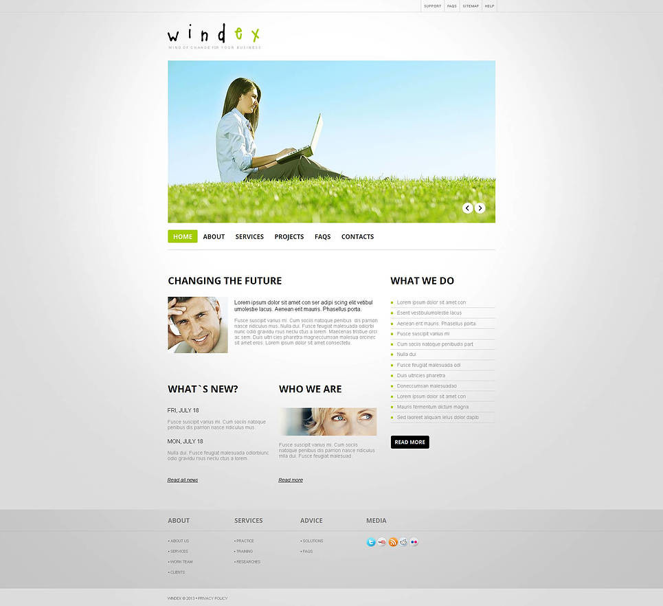 Wind Energy Moto CMS HTML Template New Screenshots BIG