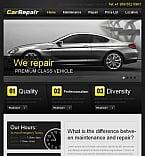 Cars Facebook HTML CMS  Template 45803