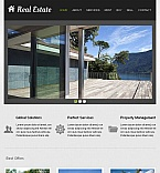 Real Estate Facebook HTML CMS  Template 45806
