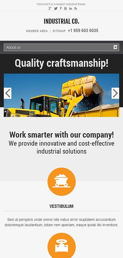 WordPress Theme/Template 45825 Main Page Screenshot