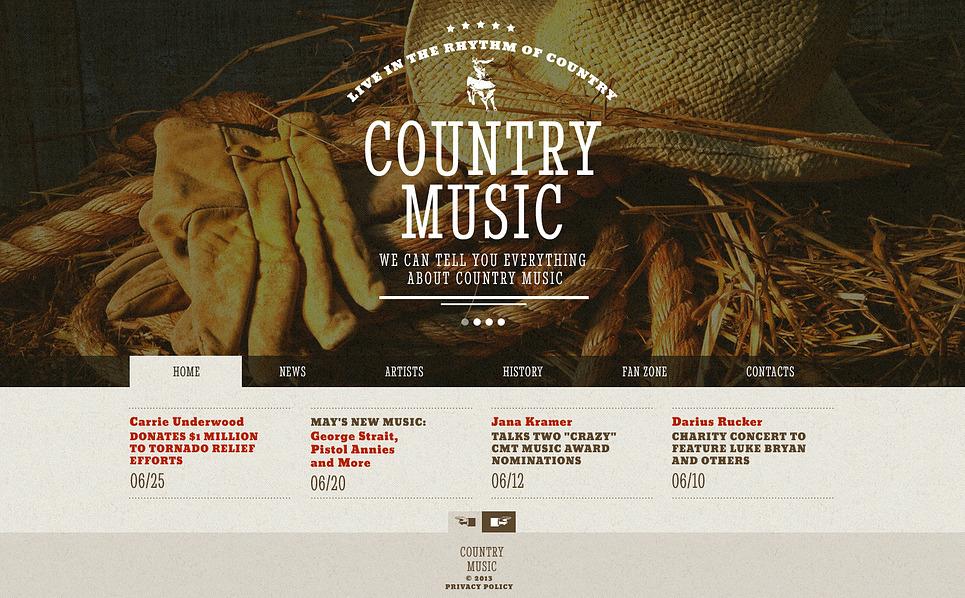 Bootstrap Website template over Muziekgroup  New Screenshots BIG