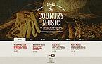 Music Website  Template 45846