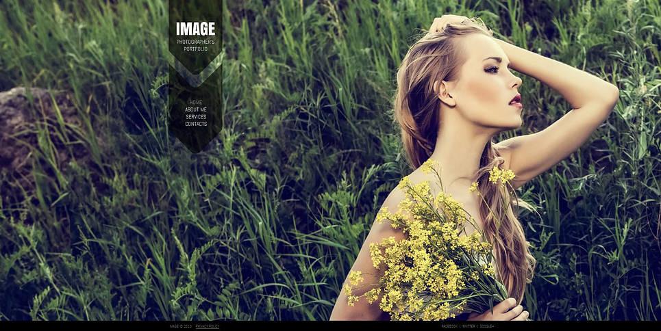 Szablon Galerii Zdjęć #45852 na temat: portfolio fotograficzne New Screenshots BIG
