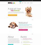 Animals & Pets Website  Template 45868