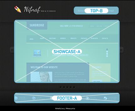 Joomla Theme/Template 45871 Main Page Screenshot