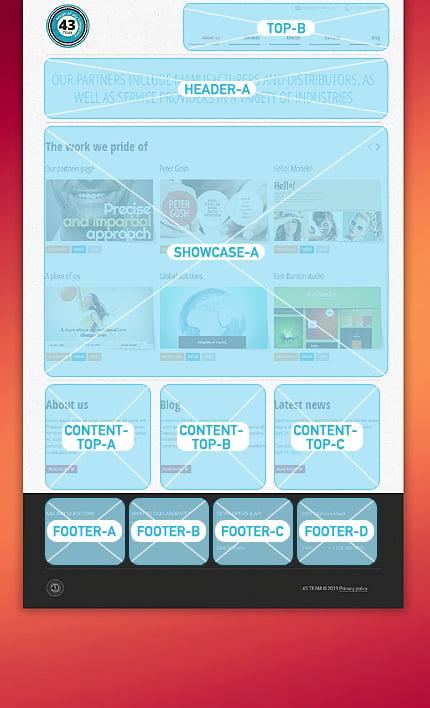 Joomla Theme/Template 45875 Main Page Screenshot