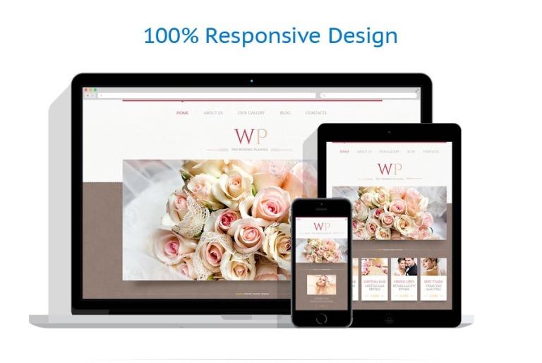 WordPress Theme #45883 für Hochzeitsplaner