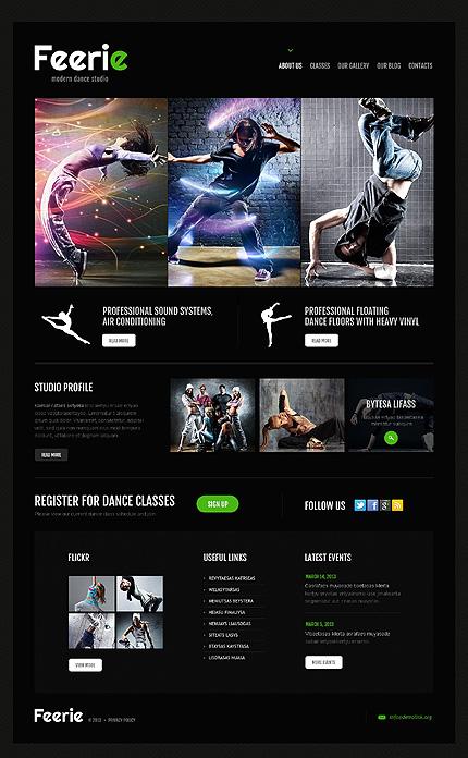 WordPress Theme/Template 45888 Main Page Screenshot