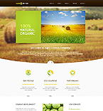 Agriculture Website  Template 45892